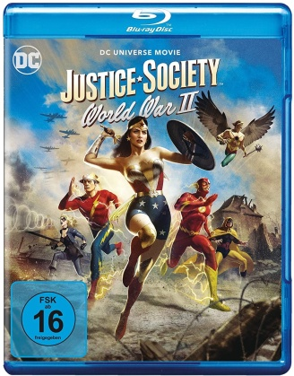 Justice Society: World War 2 - DC Universe Movie (2021)