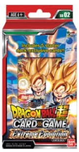 JCC - Starter SD02 - Dragon Ball Super Serie 3 - Extreme Evolution - (FR)