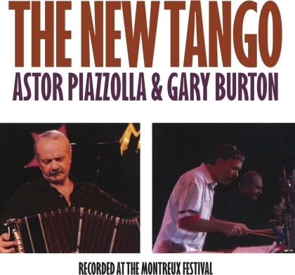 Astor Piazzolla (1921-1992) & Gary Burton - New Tango (2021 Reissue, Music On CD)