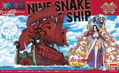 Bandai Hobby - One Piece - Grand Ship Collection Kuja Pirates Shi