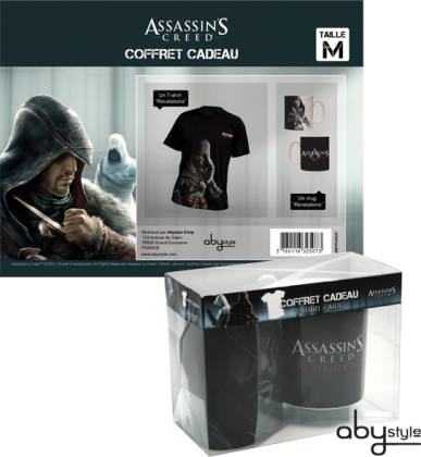 Assassin's Creed Revelations - Mug + T-Shirt - Grösse L