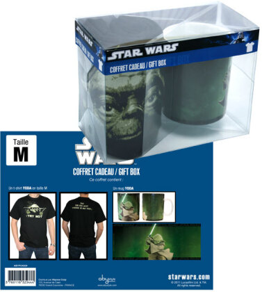 Star Wars: Yoda - Mug + T-Shirt - Grösse L