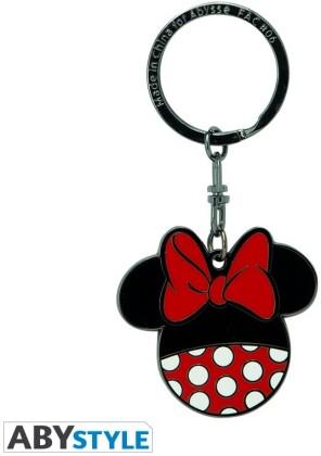 Porte-Clef Métal - Minnie design - Disney - 4.6 cm