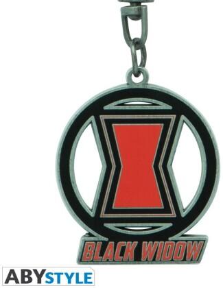 Porte-Clef Métal - Black Widow - Marvel - 4.2 cm