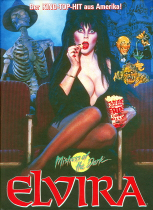Elvira - Mistress of the Dark (1988) (Limited Edition, Mediabook, Blu-ray + DVD)