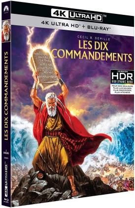 Les dix commandements (1956) (4K Ultra HD + 2 Blu-ray)