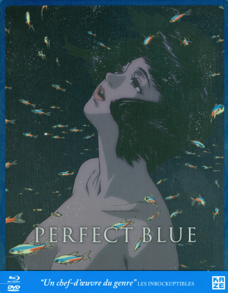 Perfect Blue (1997) (Limited Edition, Steelbook, Blu-ray + DVD)