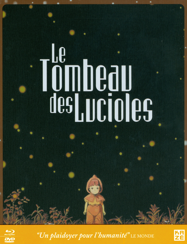 Le Tombeau des Lucioles (1988) (Limited Edition, Steelbook, Blu-ray + DVD)