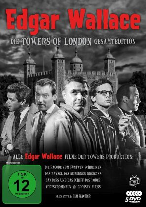 Die Towers of London Gesamtedition - Edgar Wallace (5 DVDs)