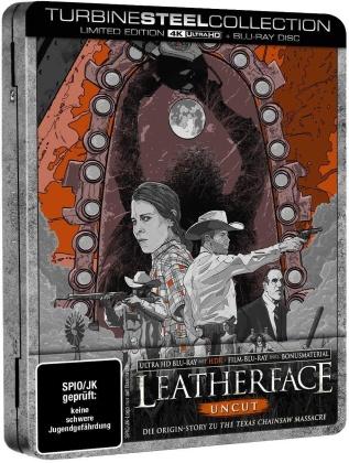 Leatherface (2017) (Turbine Steel Collection, Uncut, 4K Ultra HD + Blu-ray)
