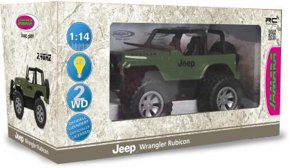 Jamara Jeep Wrangler Rubicon 1:12 olivgrün 2,4GHz