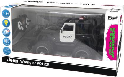 Jamara Jeep Wrangler Police 1:12 2,4GHz