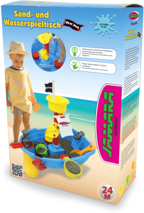 Jamara Sand- und Wasserspieltisch Pirat Jack 21 Teile