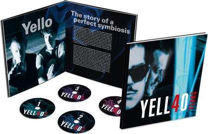 Yello - 40 Years (Limited Earbook, 4 CDs)