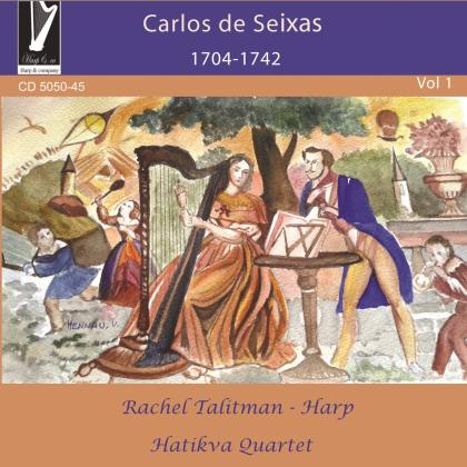Rachel Talitman, Hatikva Quart & Carlos De Seixas - Vol 1 - 1704-1742