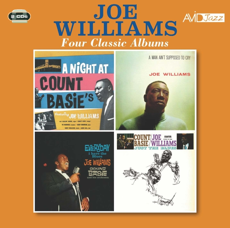Joe Williams - Night At Count Basie's / Man Ain't Supposed To Cry