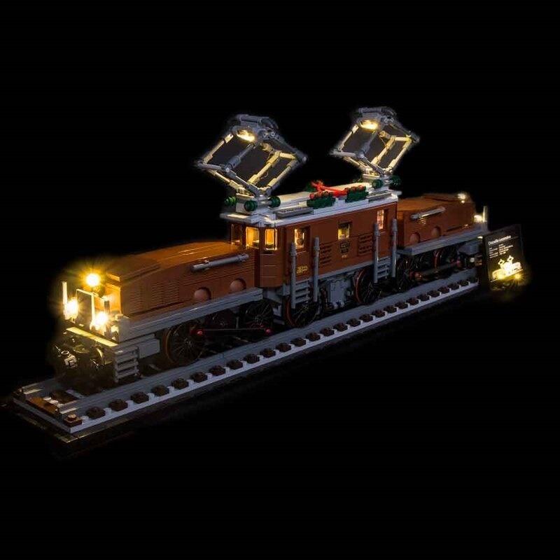 "Light My Bricks - LED Licht Set für LEGO® 10277 Lokomotive ""Krokodil"""