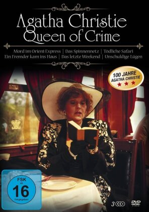 Agatha Christie - Queen of Crime (3 DVDs)
