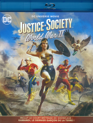 Justice Society: World War 2 - DC Universe Movie (2021)