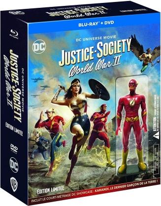 Justice Society: World War 2 - DC Universe Movie (2021) (+ Figurine, Limited Edition, Blu-ray + DVD)
