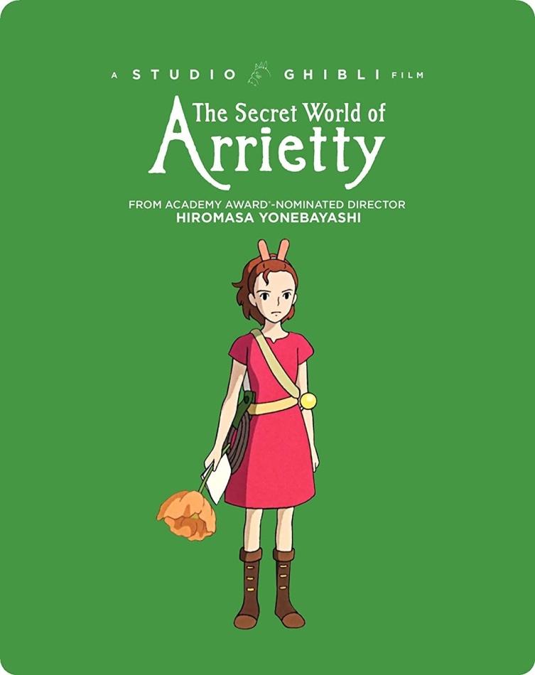 The Secret World Of Arrietty (2010) (Limited Edition, Steelbook)