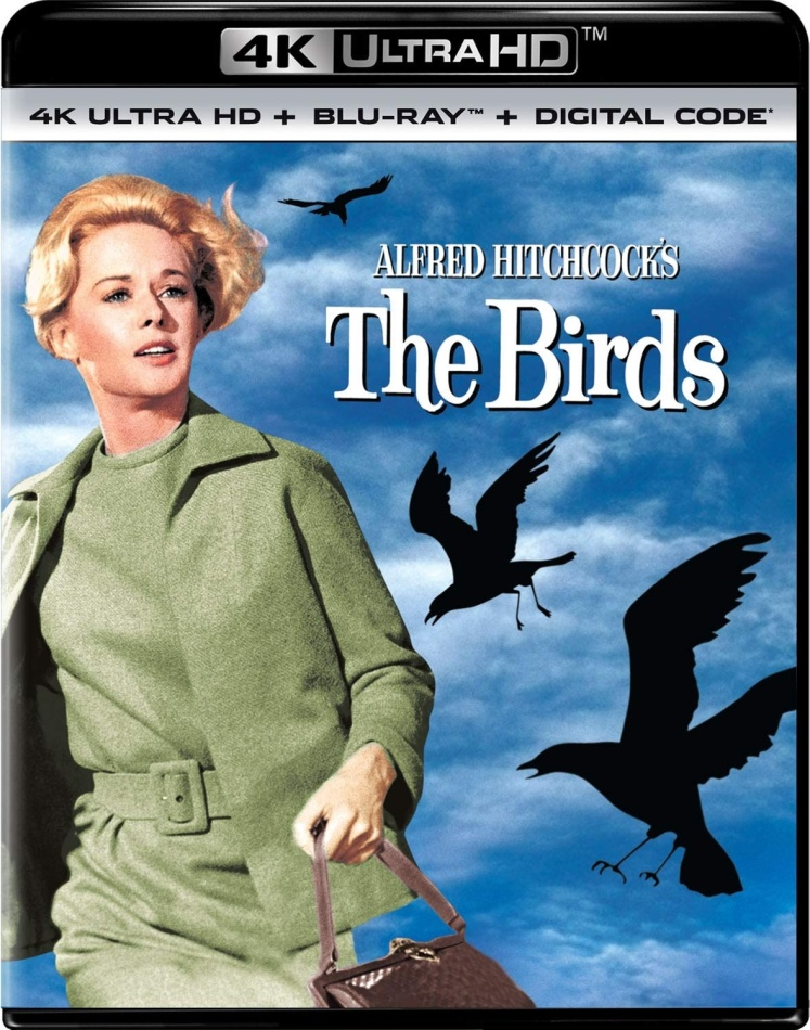 The Birds (1963) (4K Ultra HD + Blu-ray)