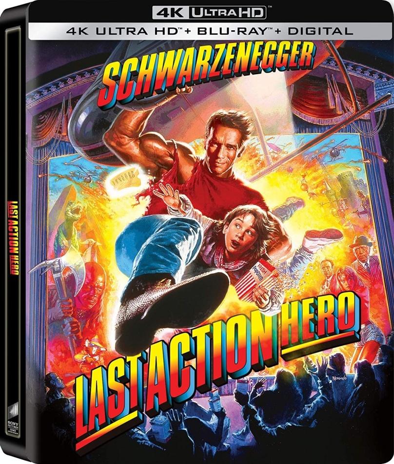 Last Action Hero (1993) (Steelbook, 4K Ultra HD + Blu-ray)