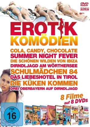Erotikkomödien - 8 Filme auf 8 DVDs (8 DVDs)