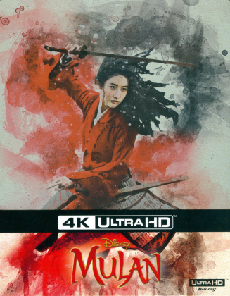 Mulan (2020) (Limited Edition, Steelbook, 4K Ultra HD + Blu-ray)