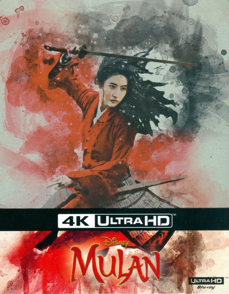 Mulan (2020) (Limited Edition, Steelbook, 4K Ultra HD + Blu-ray)