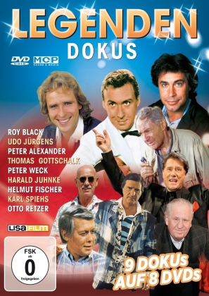 Legenden Dokus - 9 Dokus auf 8 DVDs (8 DVDs)
