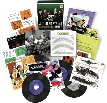 Juilliard String Quartet - Early Columbia Record. (16 CDs)
