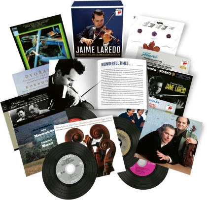Jaime Laredo - The Complete RCA and Columbia Album (22 CDs)