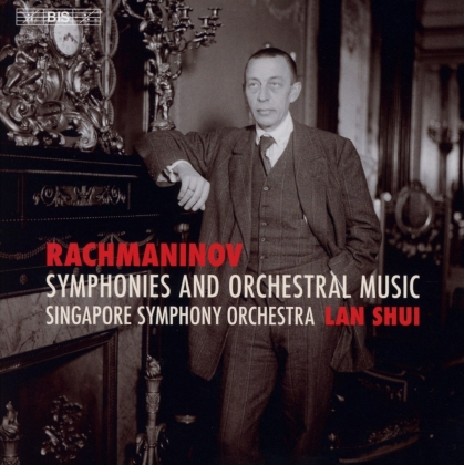 Sergej Rachmaninoff (1873-1943), Lan Shui & Singapore Symphony Orchestra - Symphonies and Orchestral Music (4 Hybrid SACDs)