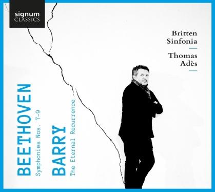 Ludwig van Beethoven (1770-1827), Gerald Barry, Thomas Ades (*1971) & Britten Sinfonia - Symphonies 7-9 (2 CDs)