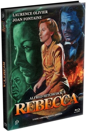 Rebecca (1940) (Wattiert, Limited Edition, Mediabook, Uncut, Blu-ray + DVD)
