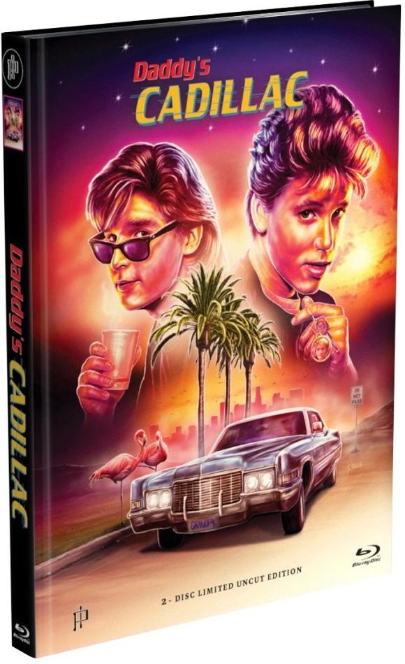 Daddy's Cadillac (1988) (Cover A, Edizione Limitata, Mediabook, Uncut, Blu-ray + DVD)