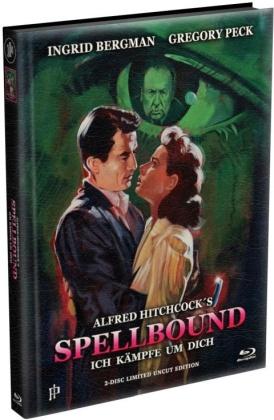 Spellbound - Ich kämpfe um Dich (1945) (Wattiert, Edizione Limitata, Mediabook, Uncut, Blu-ray + DVD)