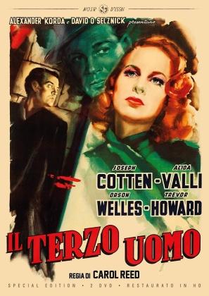 Il terzo uomo (1949) (Noir d'Essai, Restaurato in HD, n/b, Edizione Speciale, 2 DVD)