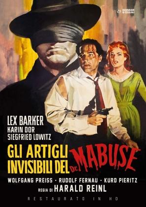 Gli artigli invisibili del Dr. Mabuse (1962) (Restaurato in HD, Horror d'Essai, n/b)