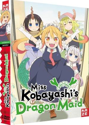 Miss Kobayashi's Dragon Maid - Saison 1 (3 DVD)