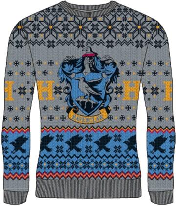 Pull de Noël - Harry Potter - Serdaigle - Homme - L - Grösse L