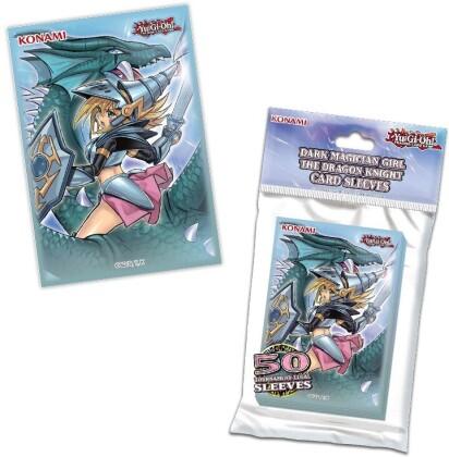 Protèges Cartes 50 pièces - The Dragon Night - Yu-Gi-Oh! - 9 cm