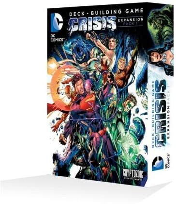 Jeu de Plateau - DC Comics Deck-building Game : Crisis Expansion Pack 1