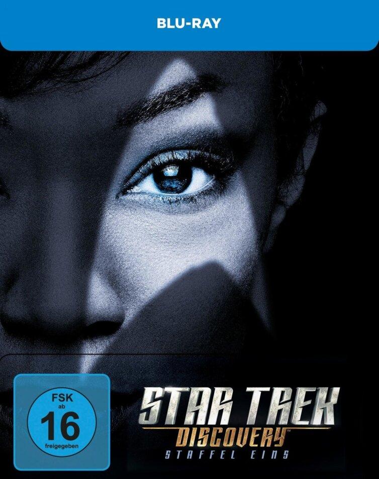 Star Trek Discovery - Staffel 1 (Limited Edition, Steelbook, 4 Blu-rays)