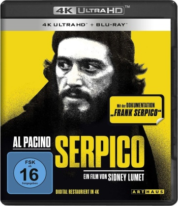 Serpico (1973) (4K Ultra HD + Blu-ray)
