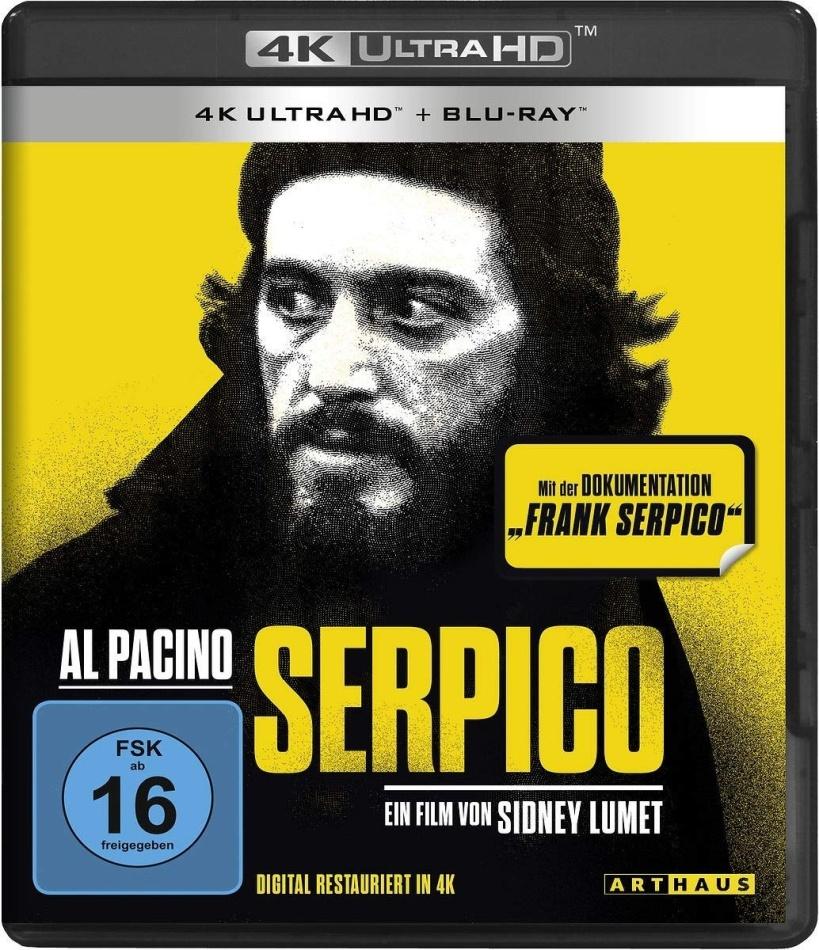 Serpico (1973) (4K Ultra HD + Blu-ray)