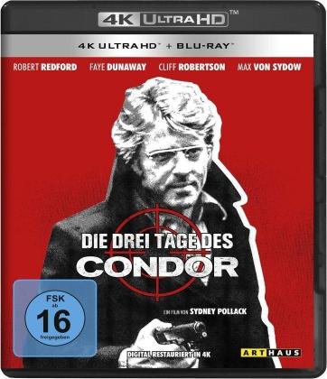 Die drei Tage des Condor (1975) (Arthaus, 4K Ultra HD + Blu-ray)