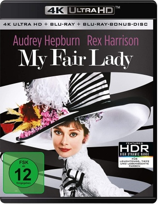 My Fair Lady (1964) (Remastered, 4K Ultra HD + Blu-ray)