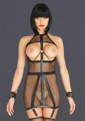 Bondage Garter Dress - S/M